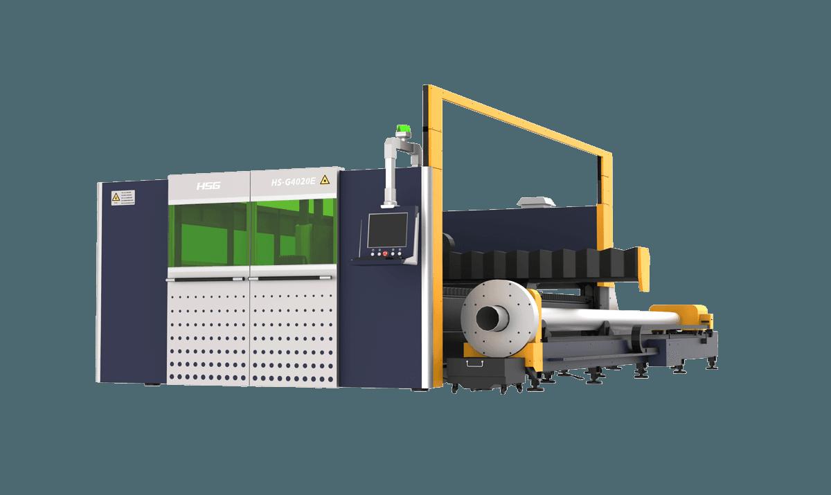 Double Plates Sheet & Tube Cutting Machine GE Series